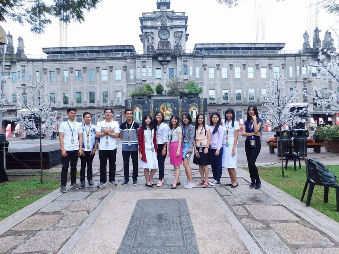 College of Law students pass EU-SHARE scholarship to study at University of Santo Tomas, Philippine.